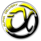Alpha Delivery Logo